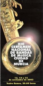 murcia 2003