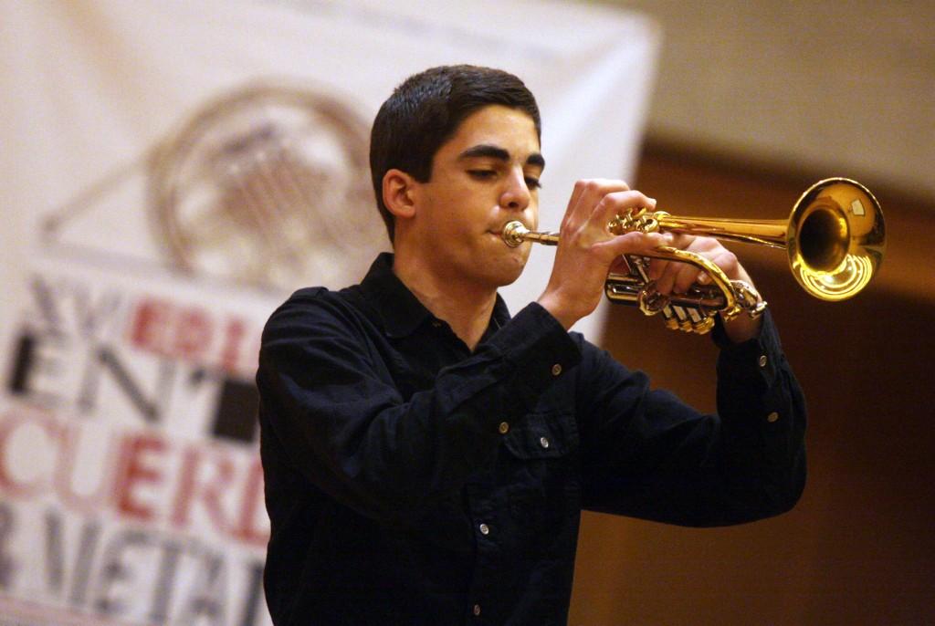 David Pérez seleccionado en la Joven Orquesta de Castilla-La Mancha (JOCM)
