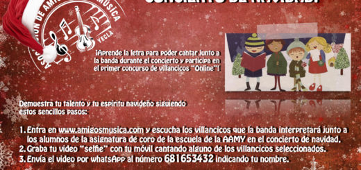 INTERACTÚA CON LA BANDA EN EL CONCIERTO DE NAVIDAD! 1º