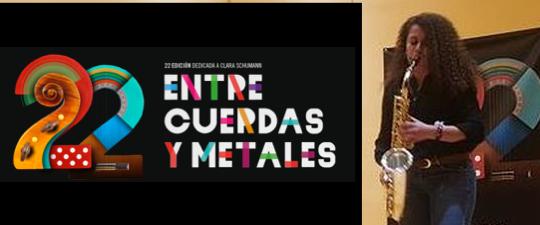 PAULA SORIANO LLEGA A LA FINAL DEL CONCURSO «ENTRE CUERDAS Y METALES» 2019