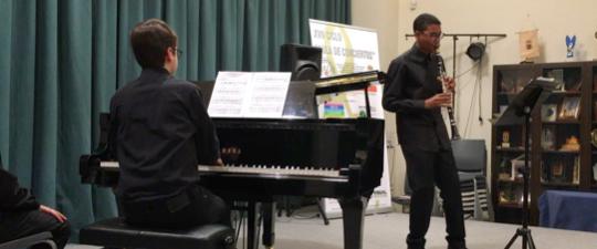 ASÍ FUE EL CONCIERTO DE CLARINETE Y PIANO EN EL XVII CICLO «AULA DE CONCIERTOS»