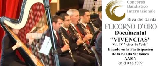 SE CUMPLEN 10 AÑOS DE LA PARTICIPACIÓN DE LA BANDA AAM YECLA EN EL CERTAMEN FLICORNO D'ORO (ITALIA)
