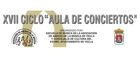 FINALIZA EL XVII CICLO «AULA DE CONCIERTOS» – MUCHAS GRACIAS A TODOS POR HACERLO POSIBLE
