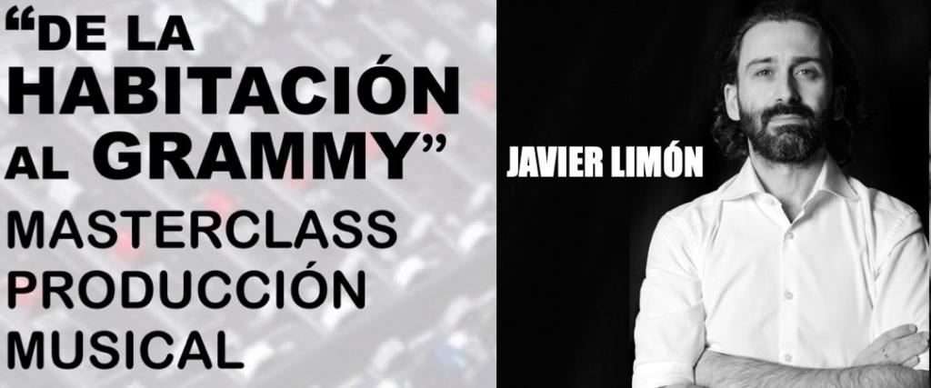 VIERNES 27 DE SEPTIEMBRE: MASTERCLASS DE PRODUCCIÓN MUSICAL A CARGO DE JAVIER LIMÓN EN LA ESCUELA DE MÚSICA DE YECLA