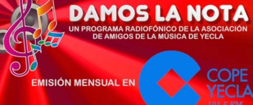 """VOLVEMOS DESPUÉS DEL VERANO CON EL ESPACIO RADIOFÓNICO """"DAMOS LA NOTA"""""""