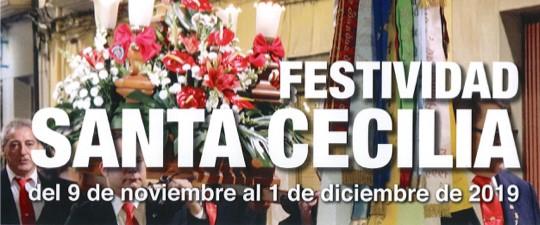 SANTA CECILIA 2019: CONCIERTO NUEVOS MÚSICOS, MISA Y CONCIERTO EXTRAORDINARIO