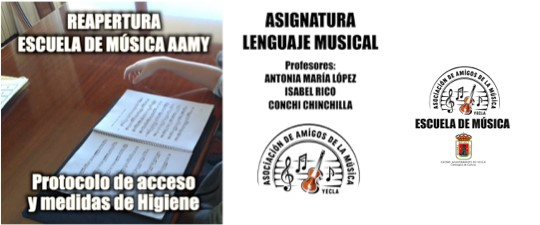 LAS CLASES DE LENGUAJE MUSICAL TAMBIÉN REGRESAN DE FORMA PRESENCIAL