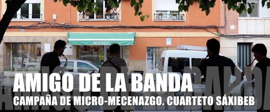 AMIGO DE LA BANDA – Primer recital frente al balcón
