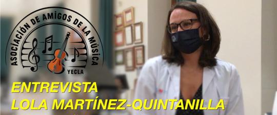 LA DOCTORA MARTÍNEZ-QUINTANILLA NOS HABLA SOBRE EL COVID-19