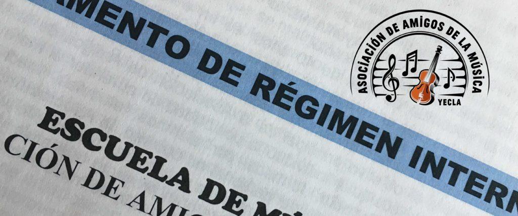 ACTUALIZACIÓN DEL REGLAMENTO DE RÉGIMEN INTERNO DE LA ESCUELA DE MÚSICA AAMY