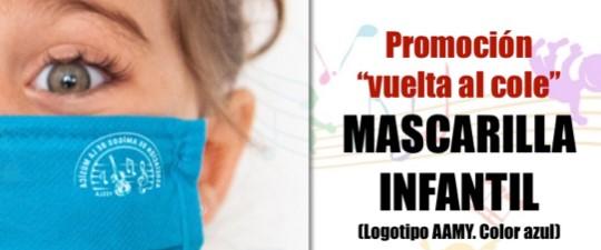 PROMOCIÓN «VUELTA AL COLE» – MASCARILLA INFANTIL