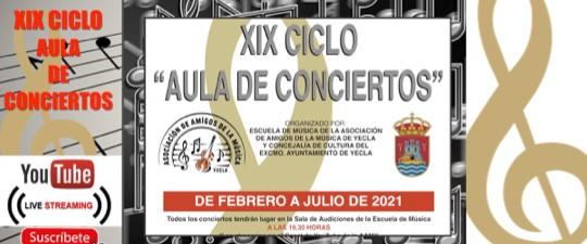"""PROGRAMACIÓN XIX CICLO """"AULA DE CONCIERTOS"""""""
