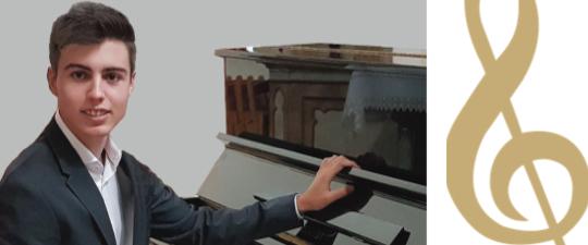 """SÁBADO 24 DE ABRIL, RECITAL DE PIANO EN EL XIX CICLO """"AULA DE CONCIERTOS"""""""