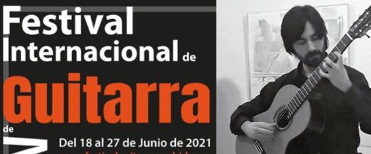 DIEGO CORRALIZA EN EL FESTIVAL INTERNACIONAL DE GUITARRA DE MADRID