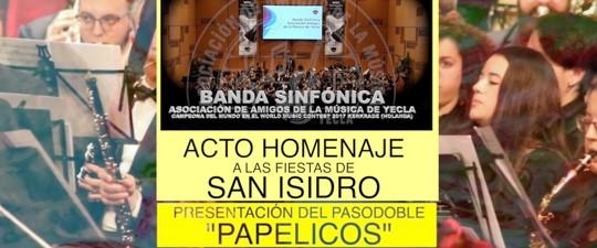 """""""PAPELICOS"""" NUEVO PASODOBLE DE ÁNGEL HERNÁNDEZ AZORÍN"""