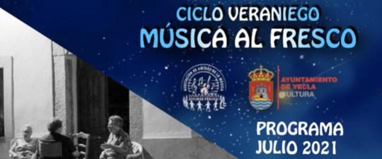 """CICLO """"MÚSICA AL FRESCO"""" – PROGRAMACIÓN GENERAL"""
