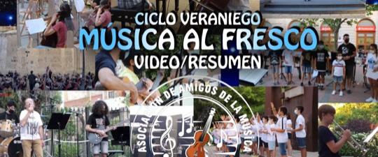 """EL CICLO """"MÚSICA AL FRESCO"""" CUMPLE CON SUS OBJETIVOS"""